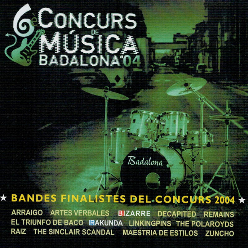Concurs de música de Badalona - The Bacos